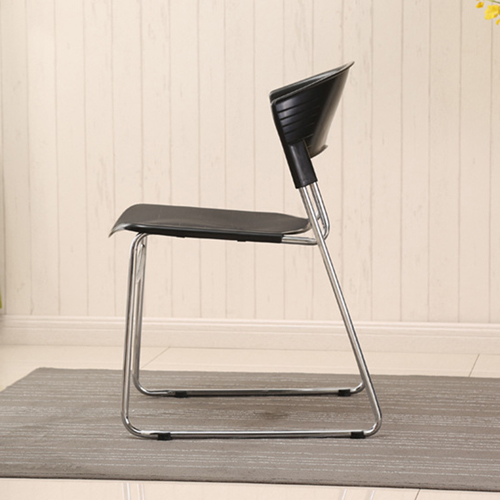 Slimline Stackable Chrome Sled Base Chair Image 9