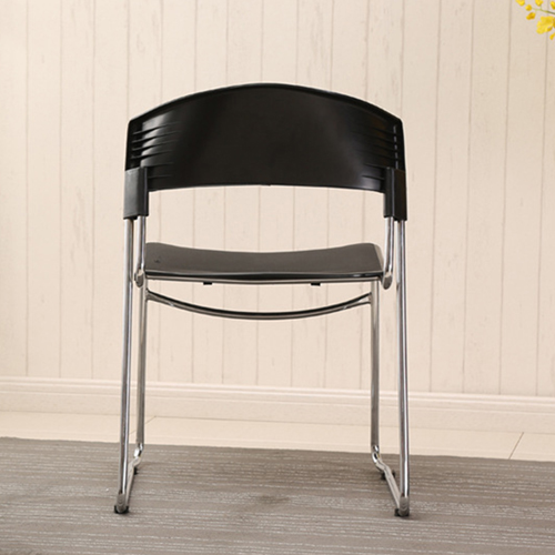 Slimline Stackable Chrome Sled Base Chair Image 11