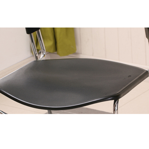 Slimline Stackable Chrome Sled Base Chair Image 13