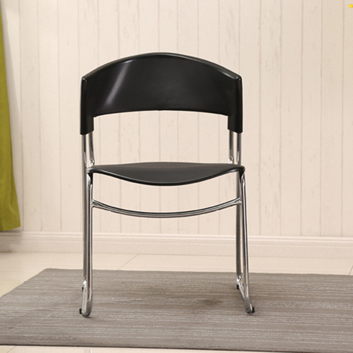 Slimline Stackable Chrome Sled Base Chair Image 7
