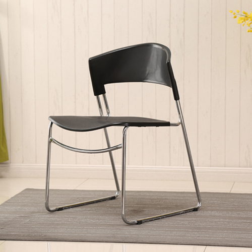Slimline Stackable Chrome Sled Base Chair Image 8
