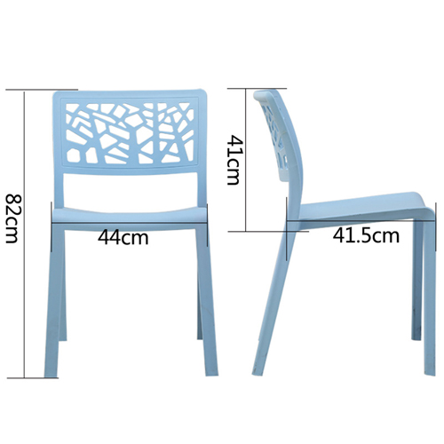 Viento Stackable Modern Chair Image 19