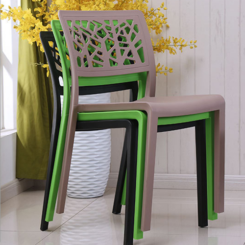 Viento Stackable Modern Chair Image 2