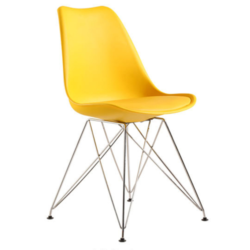 Signal DSR Cushioned Plastic Chair Image 16