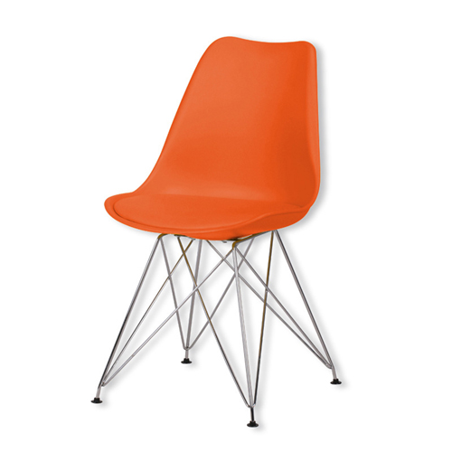 Signal DSR Cushioned Plastic Chair Image 3