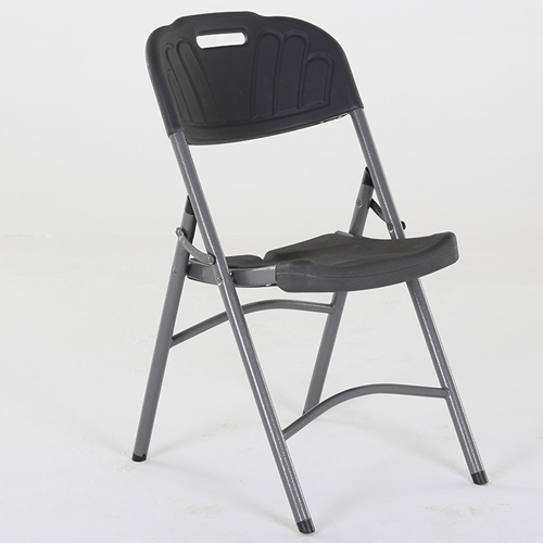 Metal Frame Plastic Folding Chair Image 9