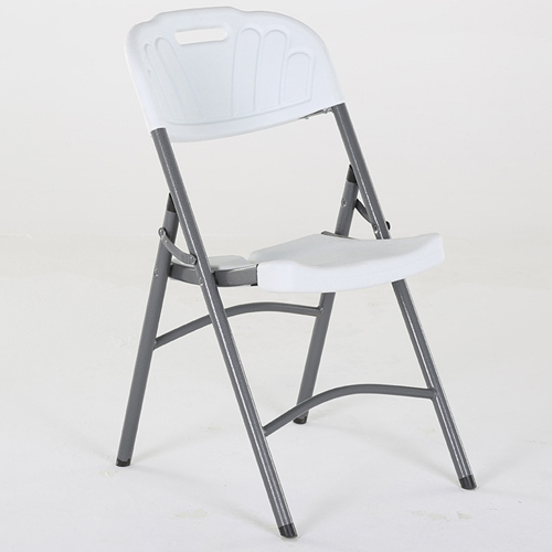 Metal Frame Plastic Folding Chair Image 10