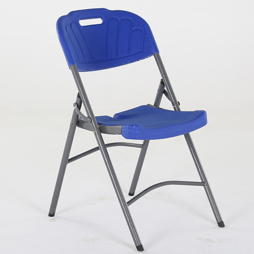 Metal Frame Plastic Folding Chair Image 11