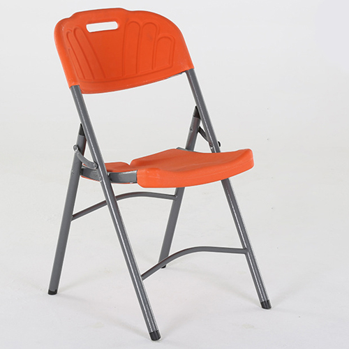 Metal Frame Plastic Folding Chair Image 13