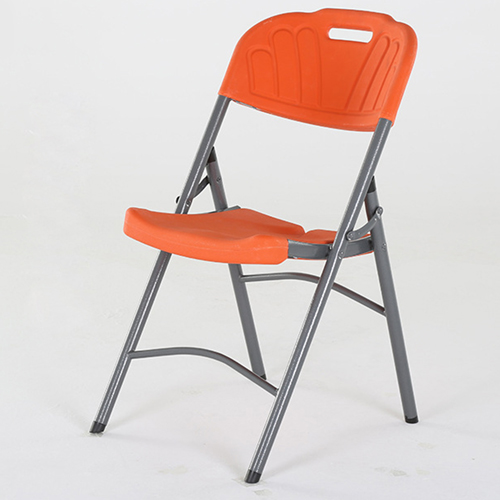 Metal Frame Plastic Folding Chair Image 14