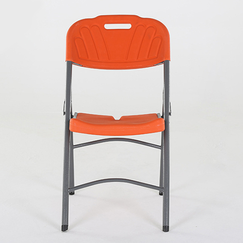 Metal Frame Plastic Folding Chair Image 15