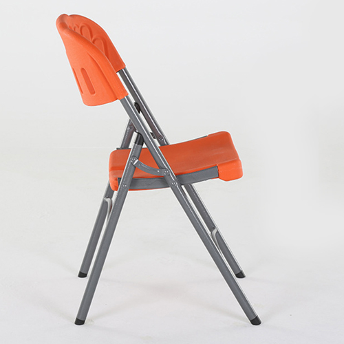 Metal Frame Plastic Folding Chair Image 16