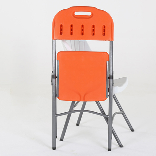 Metal Frame Plastic Folding Chair Image 17