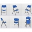 Metal Frame Plastic Folding Chair Image 20