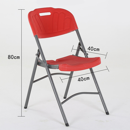 Metal Frame Plastic Folding Chair Image 24