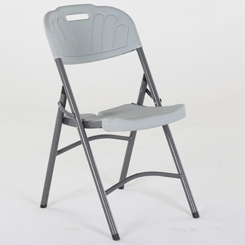 Metal Frame Plastic Folding Chair Image 6