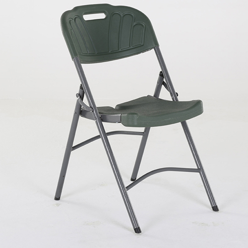 Metal Frame Plastic Folding Chair Image 7