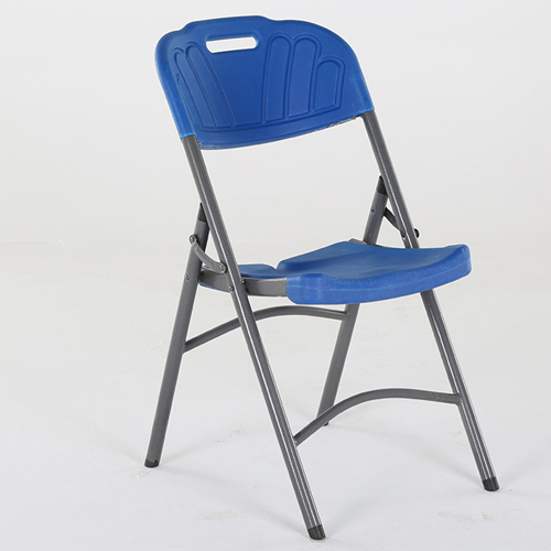Metal Frame Plastic Folding Chair Image 8