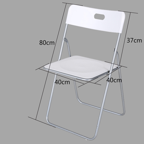 Outdoor Folding Chair With Metal Frame Image 16
