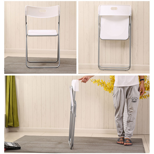 Outdoor Folding Chair With Metal Frame Image 7