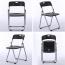 Backrest Metal Folding Chair Image 9