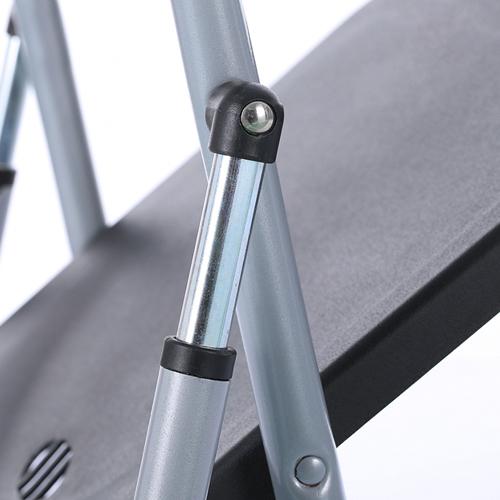 Backrest Metal Folding Chair Image 10