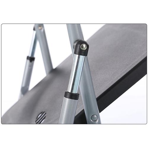 Backrest Metal Folding Chair Image 13