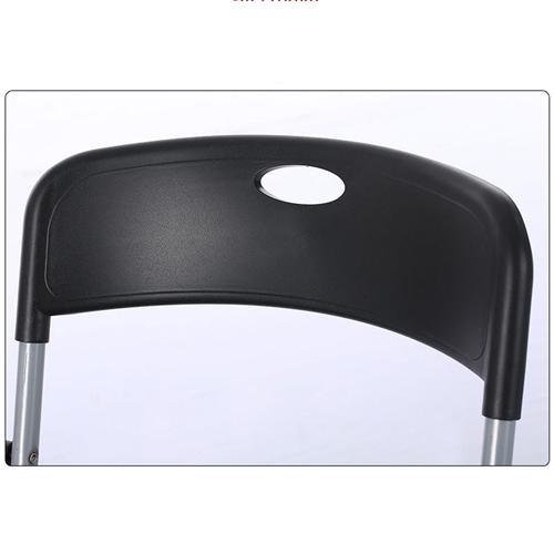 Backrest Metal Folding Chair Image 14