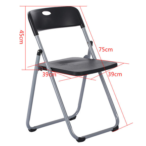 Backrest Metal Folding Chair Image 17