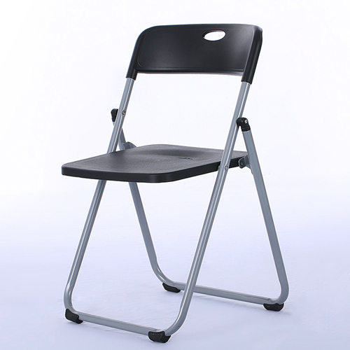Backrest Metal Folding Chair Image 1