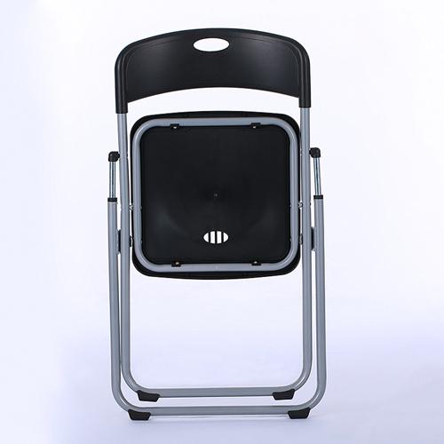 Backrest Metal Folding Chair Image 2
