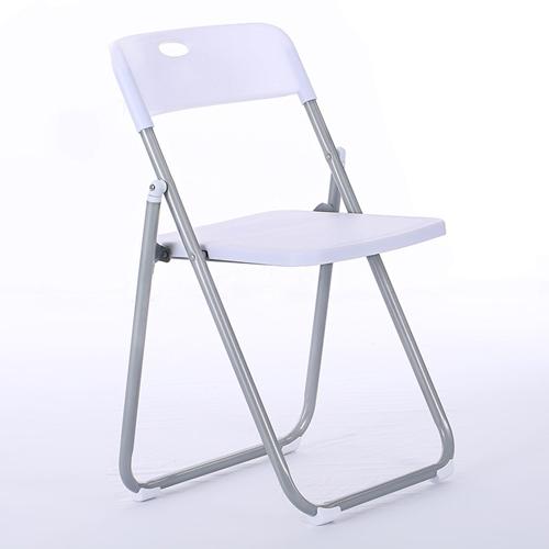 Backrest Metal Folding Chair Image 5