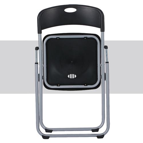 Backrest Metal Folding Chair Image 7