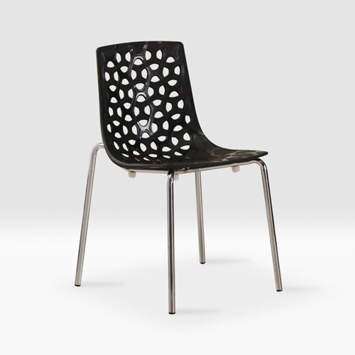 Cut Out Modern Stacking Chair