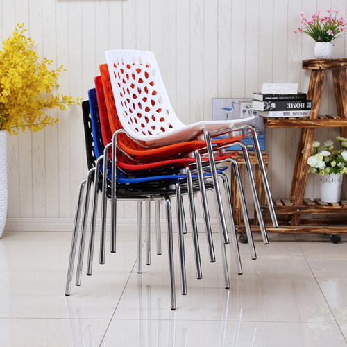 Cut Out Modern Stacking Chair Image 1