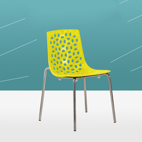 Cut Out Modern Stacking Chair Image 3