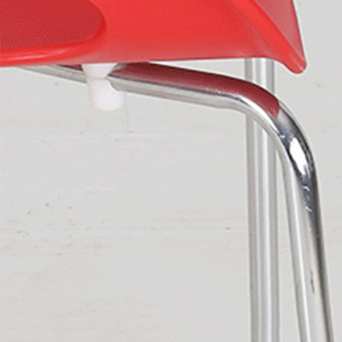 Oval Steel Base Side Chair Image 10