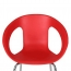 Oval Steel Base Side Chair Image 11
