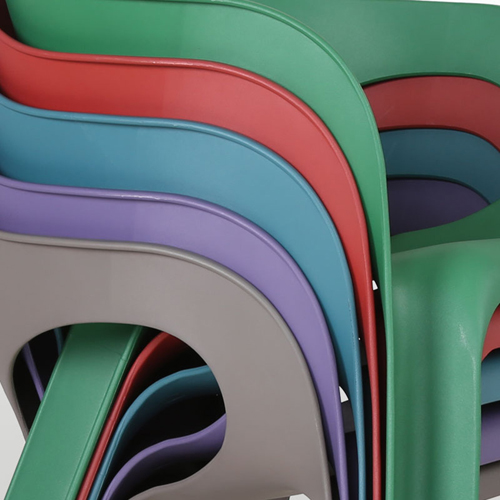 Magis Curved Lines Stackable Chair Image 15