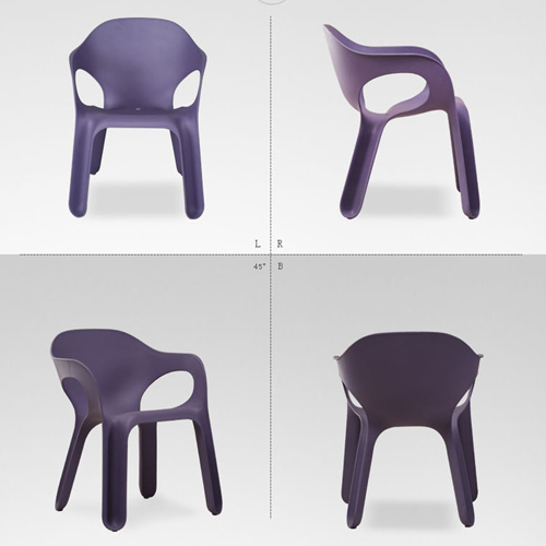 Magis Curved Lines Stackable Chair Image 9