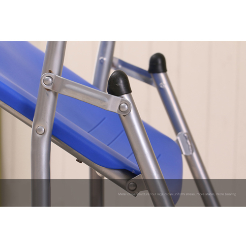 Lightweight Tubular Plastic Folding Chair