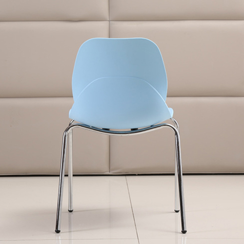 Elegant Stacking Chair With Chrome Leg Image 14