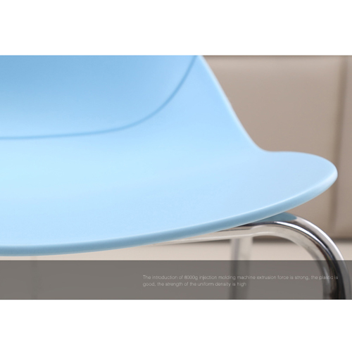 Elegant Stacking Chair With Chrome Leg Image 17