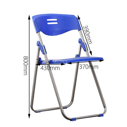 Alumina Loop Leg Folding Chair Image 19