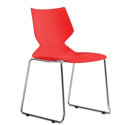 Blaze Stacking Sled Base Chair