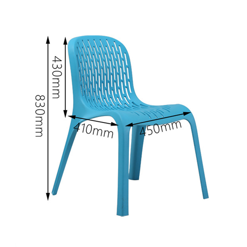 Calque Plastic Dinette Chair Image 20