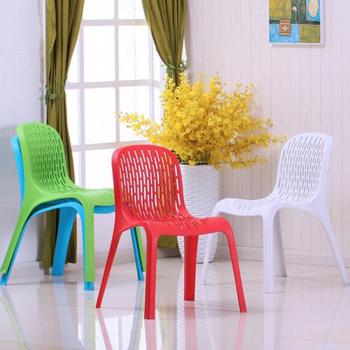 Calque Plastic Dinette Chair Image 1