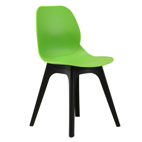 Turquoise Molded Plastic Chair