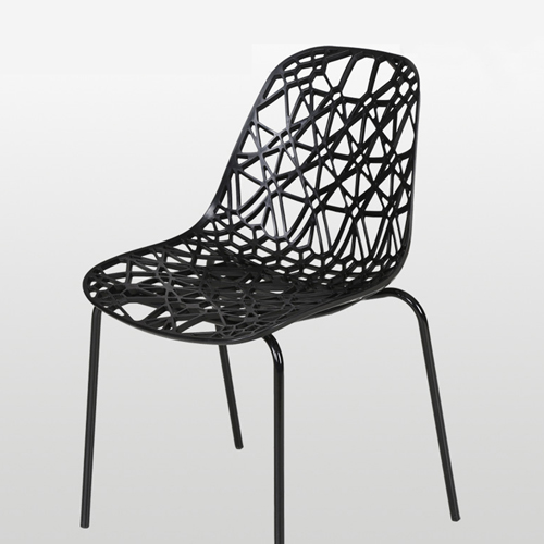 Hollow Design Replica Chair Image 1