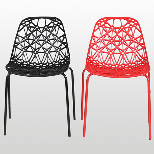 Hollow Design Replica Chair Image 3